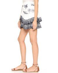 Tryb212 - White Katz Skirt - Lyst