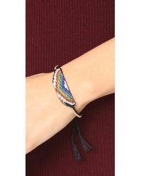 Venessa Arizaga - Blue Rainbow Bracelet - Lyst