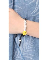 Venessa Arizaga - Black Homies Bracelet - Lyst