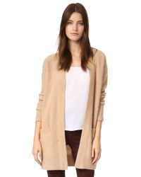 Vince - Blue Boiled Cashmere Robe Cardigan - Lyst