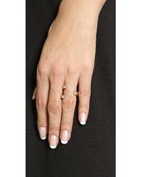 Vita Fede | Metallic Trix Ring | Lyst