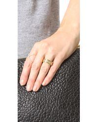 Vita Fede - Metallic Audra Crystal Ring - Lyst