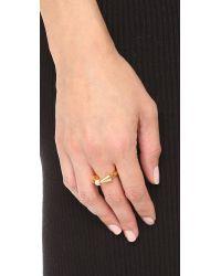 Vita Fede - Metallic Titan Cubo Ring - Lyst