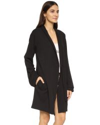 Wildfox - Black I Only Get Up For Rose Robe - Lyst