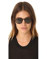 Saint Laurent | Multicolor Sl 110 Mineral Lens Sunglasses | Lyst