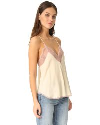 Zadig & Voltaire - Natural Christy Cami - Lyst