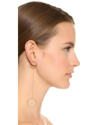 Jennifer Zeuner | Metallic Laine Earrings | Lyst