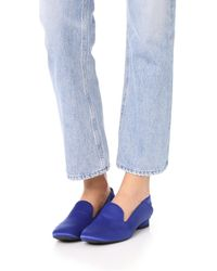 Jeffrey Campbell - Blue Symphony Step Down Loafers - Lyst