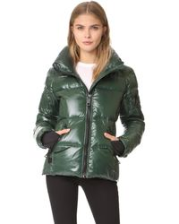 Sam. - Green Freestyle Quilted Jacket - Lyst
