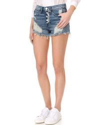 3x1 - Multicolor Shelter Cutoff Shorts - Lyst
