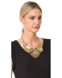 Deepa Gurnani | Metallic Deepa By Simona Necklace | Lyst