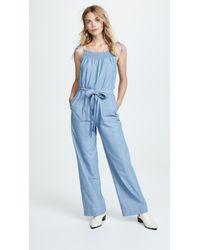 58dafc3fc47 M.i.h Jeans. Women s Blue Kensley Jumpsuit