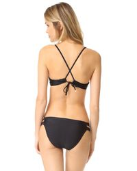 6 Shore Road By Pooja - Black Bahai Bikini Top - Lyst