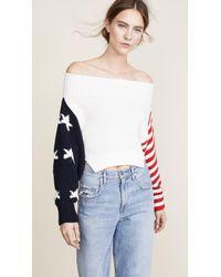 Monse - Multicolor Stars & Stripes Sweater - Lyst