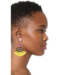 Elizabeth Cole - Pink Watermelon Earrings - Lyst