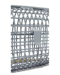 Anndra Neen - Gray Color Cage Bag - Lyst