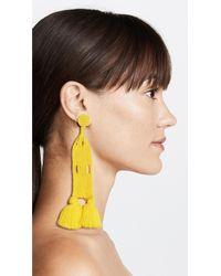 All Things Mochi - Yellow Aitana Earrings - Lyst