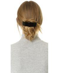 Alexandre De Paris | Black Thick Hair Clip | Lyst