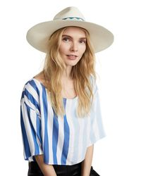 Jaunt - Blue The Mallorca Large Brim Panama Hat - Lyst