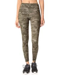 Onzie | Green Moss Camo High Rise Leggings | Lyst