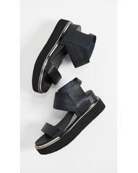 United Nude - Black Rico Sandals - Lyst