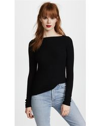 Getting Back to Square One - Black St. Germain Top - Lyst