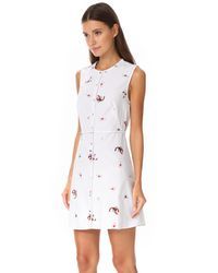 Opening Ceremony - White Scorpion Gathered Dress - Lyst