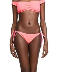 L*Space - Pink Lily Bottoms - Lyst