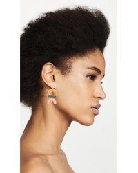 Madewell - Multicolor Enamel Statement Earrings - Lyst