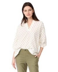 The Great - Natural The Easy Tunic - Lyst