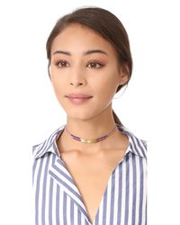 Gorjana - Multicolor Power Gemstone Choker Necklace - Lyst