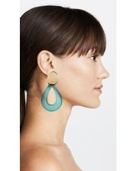 Lizzie Fortunato - Blue Midnight Teardrop Earrings - Lyst