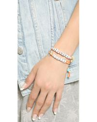 Venessa Arizaga - Pink Bee-utiful Bracelet - Lyst