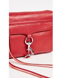 Rebecca Minkoff | Red Mini Mac Bag | Lyst