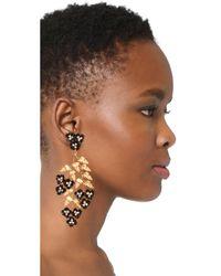 Jennifer Behr - Multicolor Aviva Chandelier Earrings - Lyst