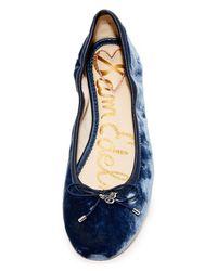 Sam Edelman - Blue Felicia Ballet Flats - Lyst