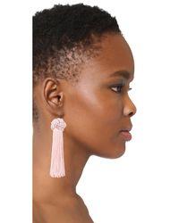 Vanessa Mooney - Multicolor The Astrid Knotted Tassel Earrings - Lyst