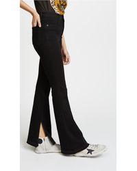 Rag & Bone - Black Bella Jeans - Lyst