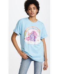 Moschino - Blue Oversized My Little Pony Tee - Lyst