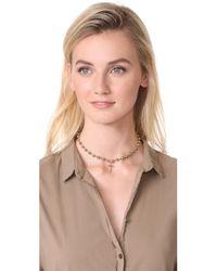 Vanessa Mooney | Metallic Celeste Choker Necklace | Lyst