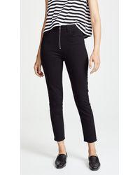 6469da7a8e8 Agolde Nico High Rise Slim Fit Jeans in Black - Lyst