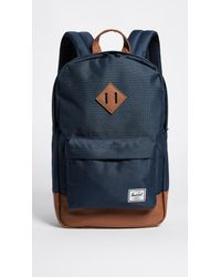 Herschel Supply Co. - Blue Heritage Mid Volume Backpack - Lyst