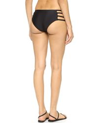 Tori Praver Swimwear - Black Shyla Bikini Bottoms - Lyst