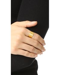 Maya Magal | Metallic Banded Ring | Lyst