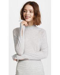 Le Kasha - Gray Kariya Cashmere Sweater - Lyst