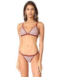 For Love & Lemons - Multicolor Samba Braided Bikini Bottoms - Lyst