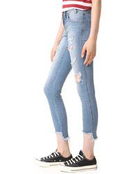 One Teaspoon - Blue Freebird Ii Skinny Jeans - Lyst