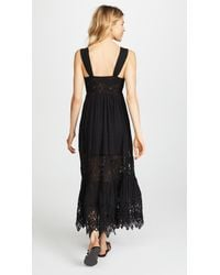 Free People - Black Caught Your Eye Maxi Dress - Lyst