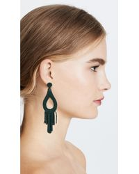 Deepa Gurnani - Green Deepa By Deepa By Gurnani Rachel Earrings - Lyst