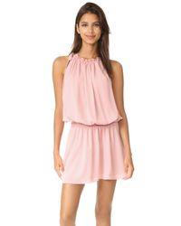 Amanda Uprichard - Pink Emlyn Dress - Lyst